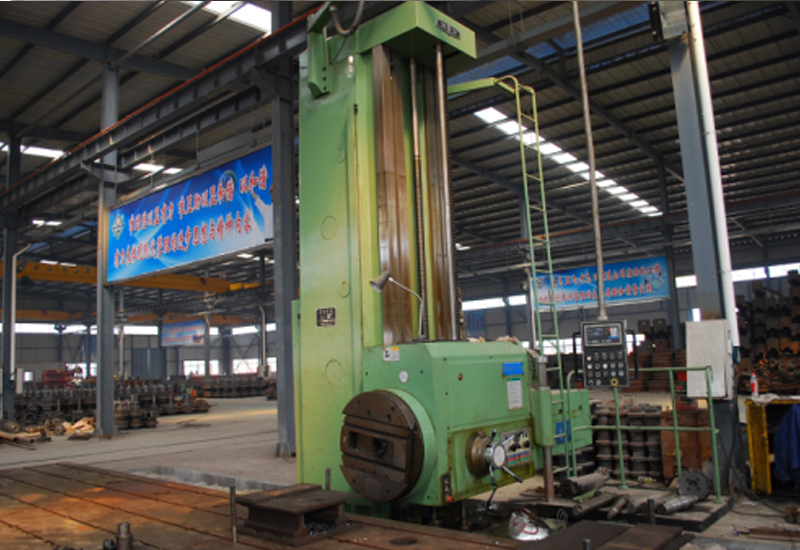 Large-flore-type-boring-machine