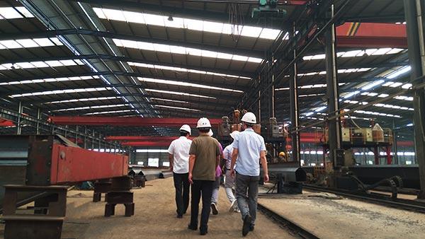 Crane factory Inspection by Kenyan customer.jpg