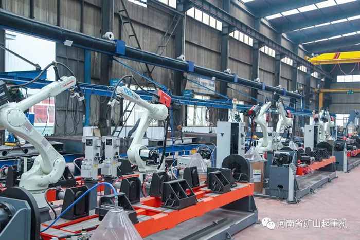 "Henan Mine 丨Stride Forward into ""New Era of Automation Robots"""