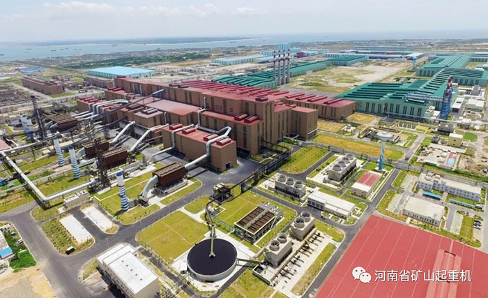 HENAN MINE Contracted the Crane Project of Cold Rolling Project of Three Blast Furnace System with Baosteel