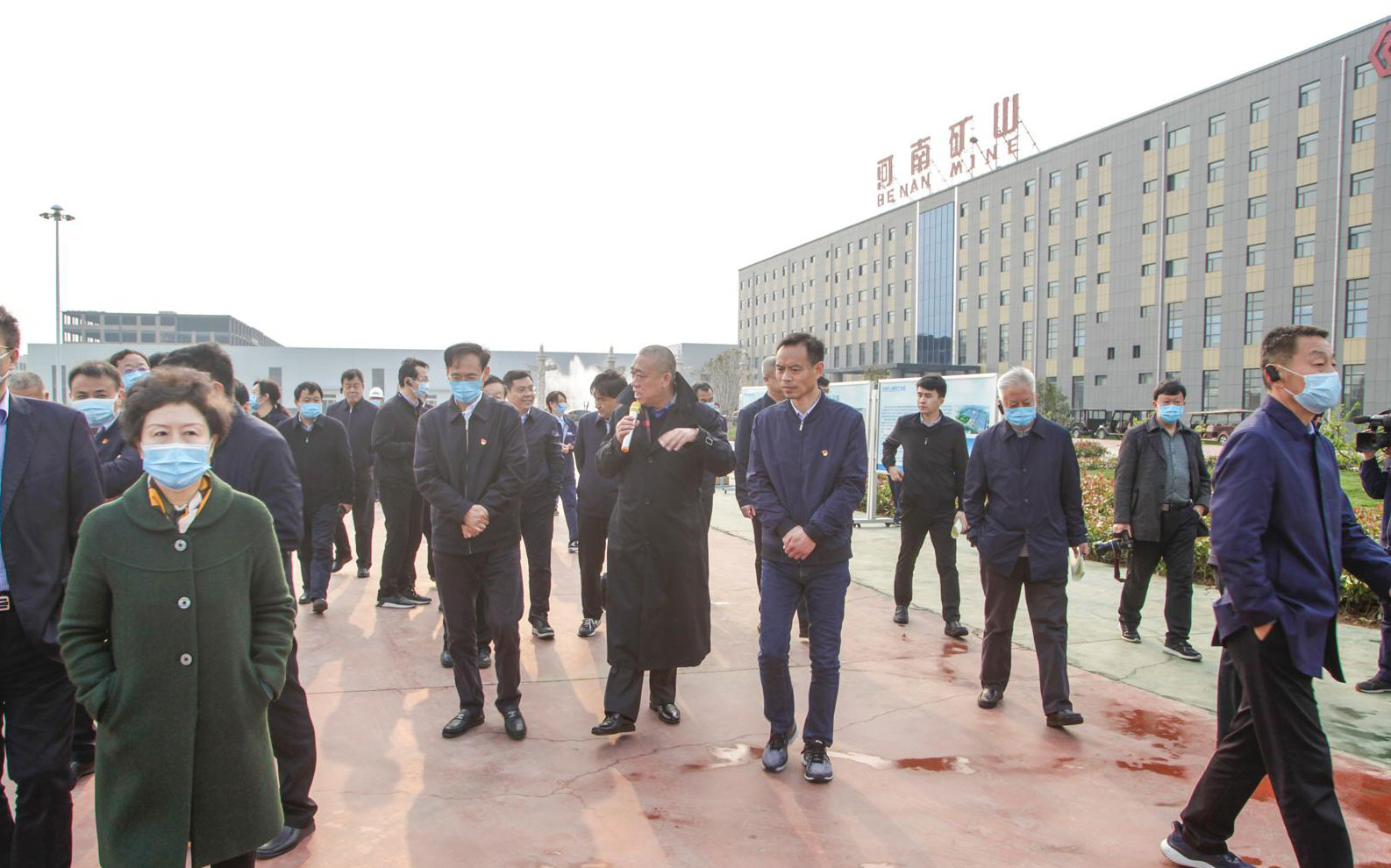 Zhang Guowei, Secretary of Xinxiang Municipal Party committee and key project observation team visit