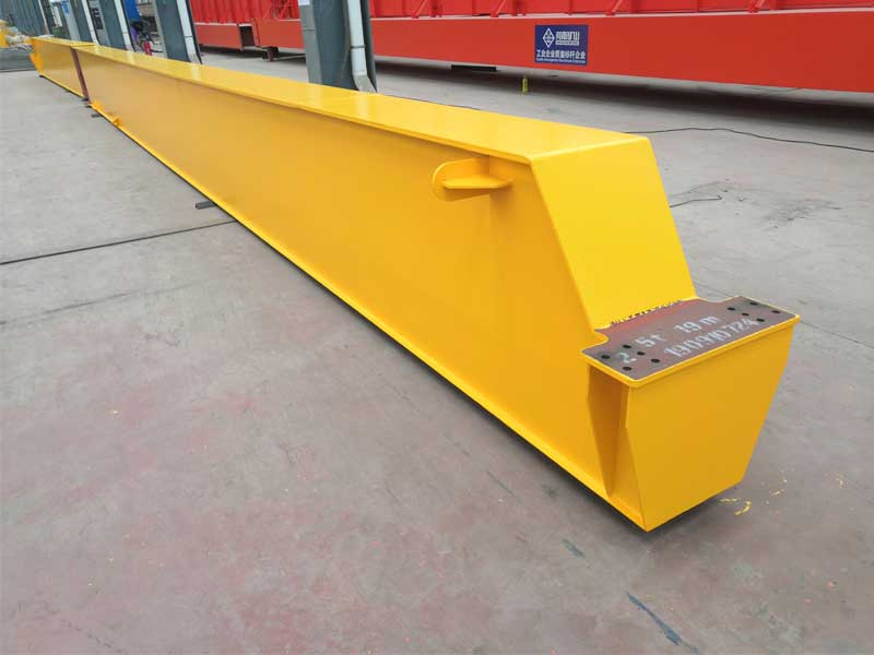 5t LDA Model Single Beam Overhead Crane for Argentine Customer