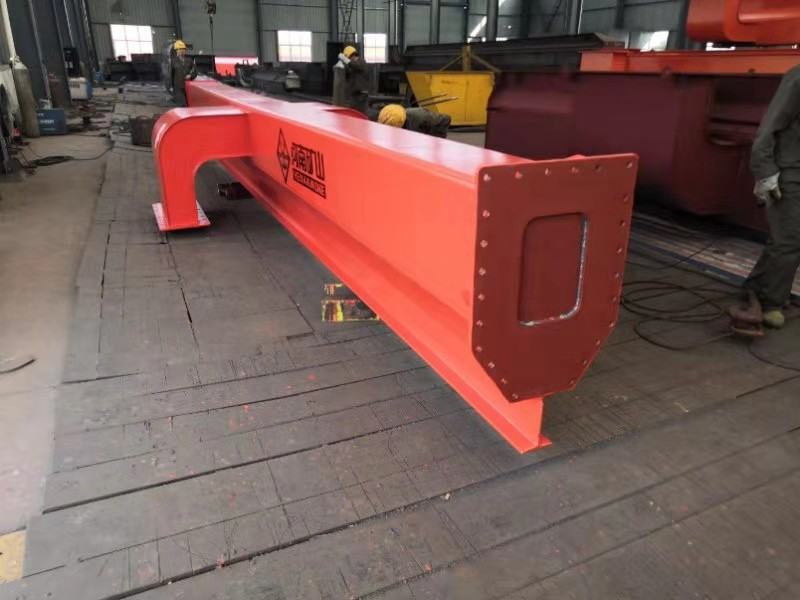 5t MH Model Single Beam Gantry Crane for Saudi Arabia Customer
