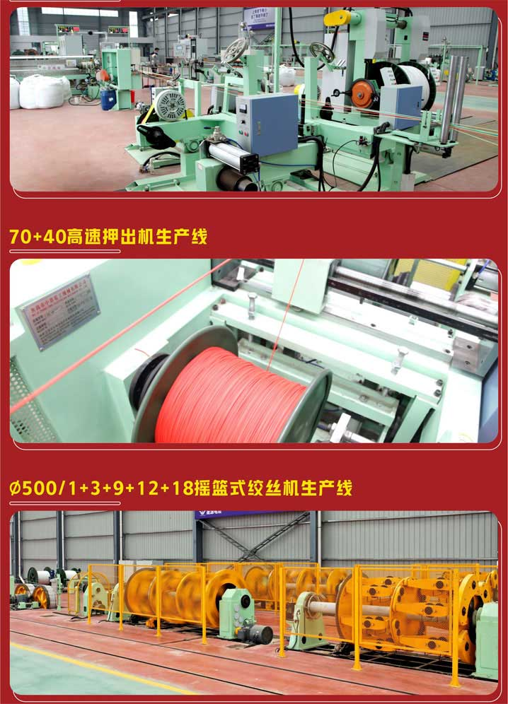 Digital cable workshop of Henan mine intelligent industrial park put into production smoothly
