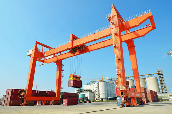 Rail Mounted Container Gantry Crane(RMG)