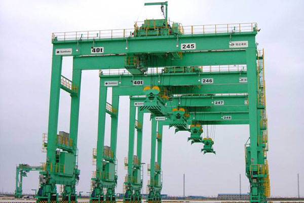 Rubber Tire Container Gantry Crane