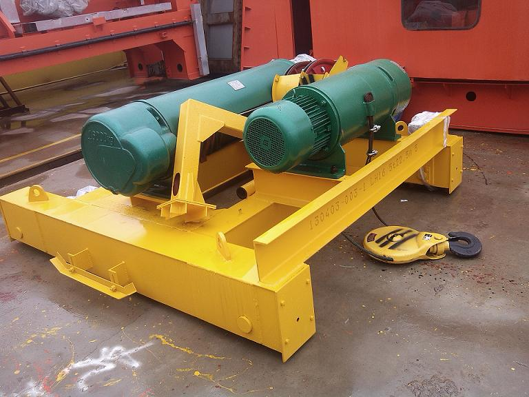 Double Rail Trolley Hoist