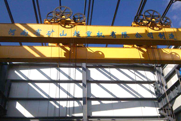 Manually Operated Double Girder Overhead Crane