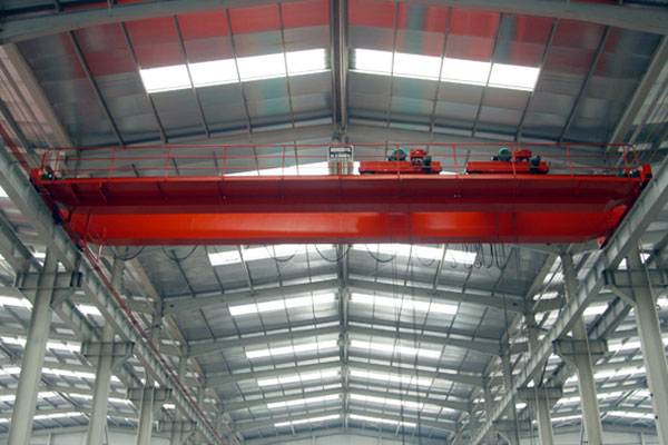 Double Beam Overhead Crane with Double Trolley